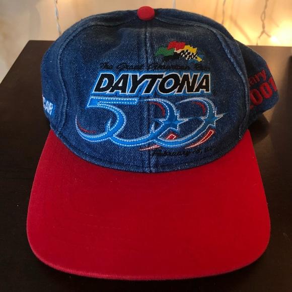 Accessories Vintage Nascar 201 Daytona 500 Snapback Hat Poshmark